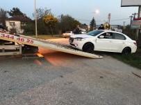 Polisin 'Dur' İhtarına Uymadı Kanala Uçtu