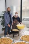 Devrekani Belediyesinden Sağlık Çalışanlarına 'Cırık Tatlısı' İkramı