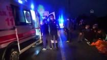 Düzce'de Fındık Bahçesine Devrilen Otomobildeki 4 Kişi Yaralandı