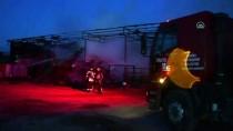 Manisa'da Besi Çiftliğinde Çıkan Yangında Bir Kişi Yaralandı