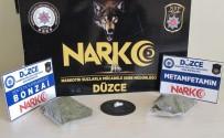 Durdurulan Araçtan Uyuşturucu Çıktı