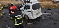 Mardin'de Kamyon İle Otomobil Çarpıştı Açıklaması 1 Ölü