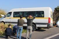 Özel Eğitim Öğrencilerini Taşıyan Servis Kaza Yaptı Açıklaması 5 Yaralı