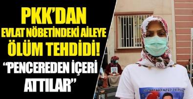 HDP önünde evlat nöbetindeki Biçer ailesine PKK'dan ölüm tehdidi