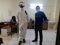 Manyas'ta Dezenfektan Çalışmaları Sürüyor