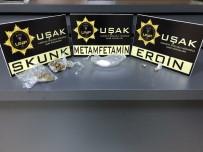 Uşak'ta Yabancı Uyruklu İki Uyuşturucu Taciri Tutuklandı