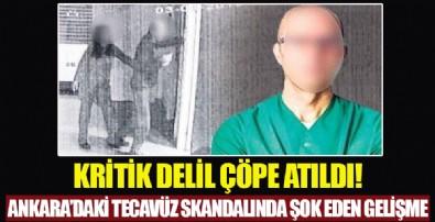 Ankara'daki tecavüz skandalında flaş gelişme: Profesörün suçlandığı davada 'sperm' delili kayboldu
