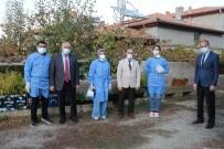 Başkan Öztürk'ten Sağlık Çalışanlarına Ziyaret