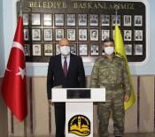 Garnizon Komutanı Tunoğlu'ndan Başkan Pekmezci'ye Ziyaret