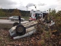Yenice'de Trafik Kazası Açıklaması 1 Yaralı
