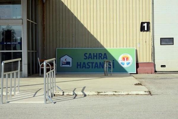 CHP'nin Sahra Hastanesi yalanında son perde: Tabelası söküldü paravanlar çöpte