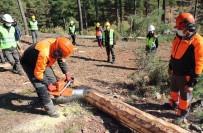 Eğirdir'de Orman Ürünleri Üretim Tatbikatı