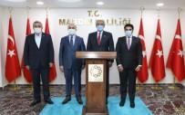 Kuveyt Ankara Büyükelçisi Al-Zawawi Vali Mahmut Demirtaş İle Görüştü