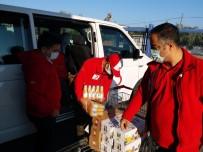 Salihli Kızılay, Depremzedelerin Yardımına Koştu