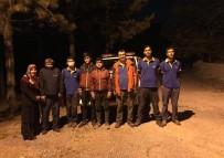 Uçurumda Mahsur Kalan Gençleri AFAD Kurtardı