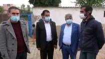 Şanlıurfa'da Sokakta Yaşayan Aileye Belediyeden Destek