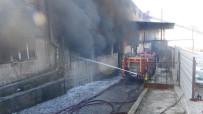 Tekstil Fabrikasındaki Yangın 4 Saatte Kontrol Altına Alındı