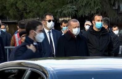 Ticaret Bakanı Ruhsar Pekcan'ın annesine son veda! Başkan Erdoğan da törene katıldı