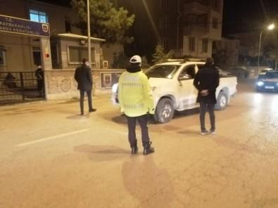 Emet'te Polis Ve Jandarma Ekiplerinden Denetim