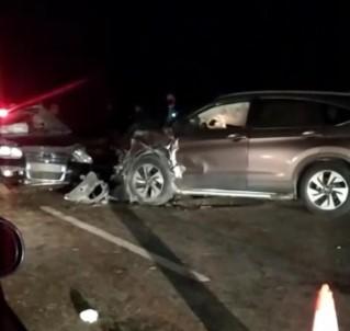 Kısıtlamaya Dakikalar Kala Feci Kaza Açıklaması 2 Ölü, 2 Yaralı