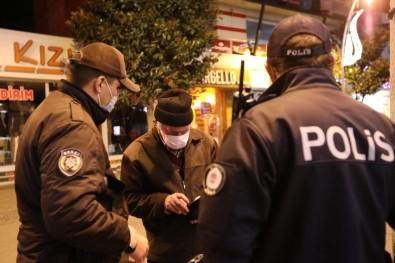 Sakarya'da Sokağa Çıkma Kısıtlamasının İlk Cezası Kesildi