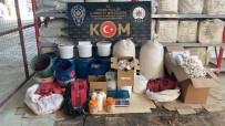 Adana'da Nargile Tütünü İmalathanesine Baskın