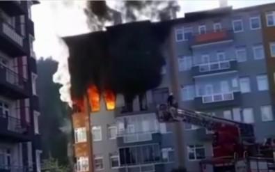 Giresun'da Yangın