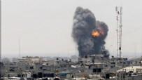İSRAIL - İsrail ordusu Gazze'yi bombaladı!