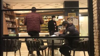 Kısıtlama Saatinde Tatlı Alan Şahsa Ve Pastane Sahibine Ceza Yağdı