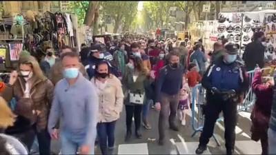 Kovid-19'Dan Kapatılan Madrid'in Ünlü Bit Pazarı 8 Ay Sonra Açıldı