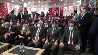 MHP Muş İl Başkanı Yüce, Güven Tazeledi