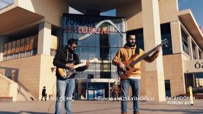 Palandöken Belediyesi Turistleri 'Hadi Gel Erzurum'a Gel' Şarkısıyla Çağırıyor
