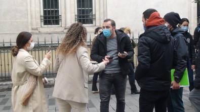 Polise 'Kapa Çeneni' Diyen Kadın Turistler Gözaltına Alındı