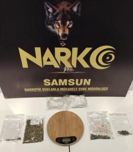 Samsun'da Uyuşturucu Operasyonu Açıklaması 2 Gözaltı