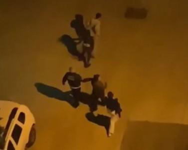Sokak Ortasında İki Kadını Darp Etti, Tokat Sesleri Sokaklarda Yankılandı