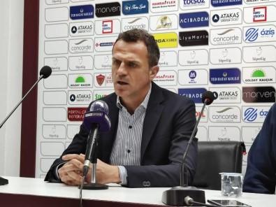 Stjepan Tomas Açıklaması '3 Puanı Alacakken 1 Puana Razı Olmak Çok Üzücü'