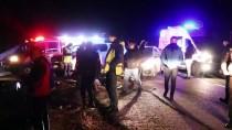 Ağrı'da Sığınmacıları Taşıyan Kamyonet Devrildi Açıklaması 17 Yaralı