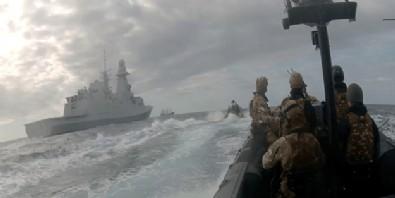 Akdeniz'de ortalık fena karıştı! Alman askerleri Türk gemisine tırmandı