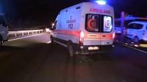 Düzce'de Zincirleme Trafik Kazası Açıklaması 3 Yaralı