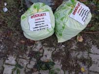 Evinde Korona Vakası Olan Vatandaş Evinden Çıkan Çöpleri Poşete Koyup Yazıyla Uyardı