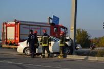 Manisa'da İki Otomobil Çarpıştı Açıklaması7 Yaralı