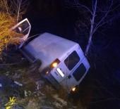 Tunceli'de Kaza  Açıklaması1 Yaralı