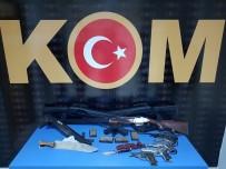 Adana'da Silah Ve Mühimmat Kaçakçılığı Operasyonu Açıklaması 3 Gözaltı
