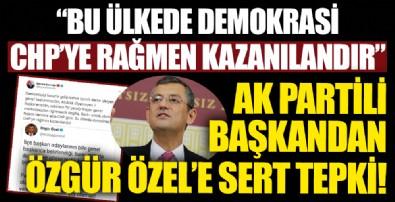 Bayram Şenocak'tan Özgür Özel'e sert tepki!