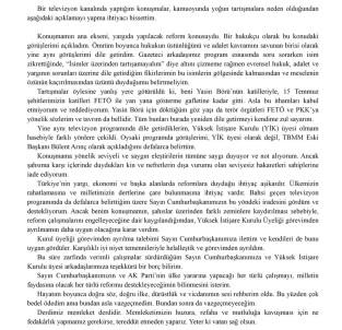 Bülent Arınç, YİK üyeliğinden istifa etti!