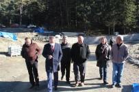 Dipsiz Göl'de Çalışmalar Aralıksız Sürüyor