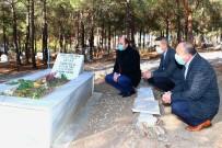 Şehit Öğretmen Oktay Türkoğlu Kabri Başında Anıldı