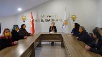 AK Parti Uşak Kadın Kolları Başkanı Sabancı Açıklaması 'Kadına Karşı Şiddet Turuncu Çizgimizdir'