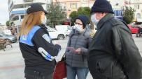 Balıkesir'de Kadın Polisler Kadın Acil Destek Uygulamasını Anlattı