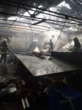 Mobilyacılar Sitesinde Yangın